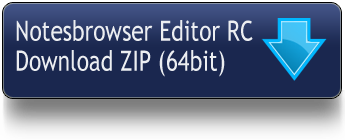 Download Notesbrowser Editor rc1 64Bit
