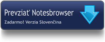 Download Notesbrowser Slovenčina